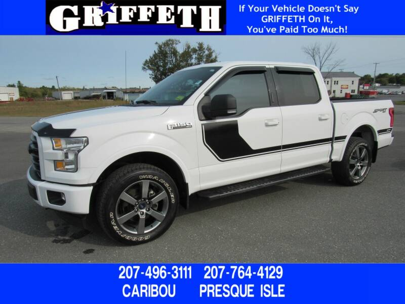 2017 Ford F-150 for sale at Griffeth Ford in Presque Isle ME