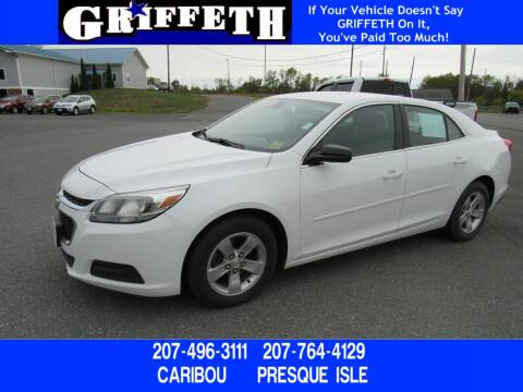 2015 Chevrolet Malibu for sale at Griffeth Ford in Presque Isle ME
