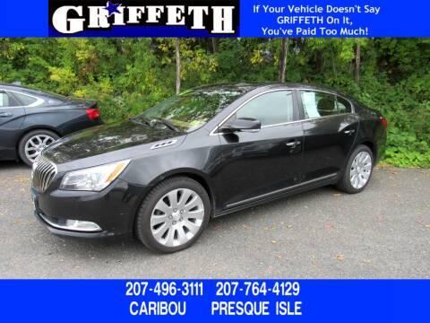 2014 Buick LaCrosse for sale at Griffeth Ford in Presque Isle ME