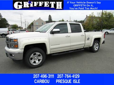 2014 Chevrolet Silverado 1500 for sale at Griffeth Ford in Presque Isle ME