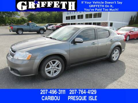 2012 Dodge Avenger for sale at Griffeth Ford in Presque Isle ME