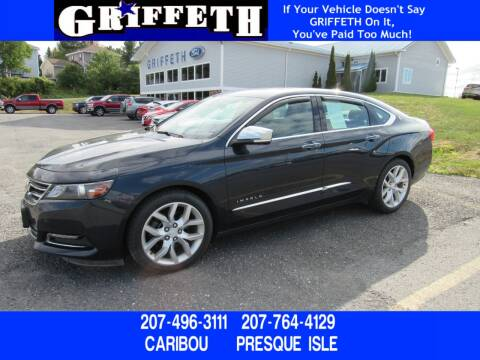 2014 Chevrolet Impala for sale at Griffeth Ford in Presque Isle ME