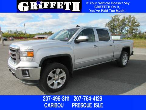 2015 GMC Sierra 1500 for sale at Griffeth Ford in Presque Isle ME