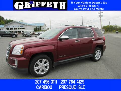 2016 GMC Terrain for sale at Griffeth Ford in Presque Isle ME