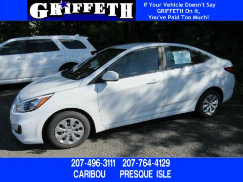 2017 Hyundai Accent for sale at Griffeth Ford in Presque Isle ME