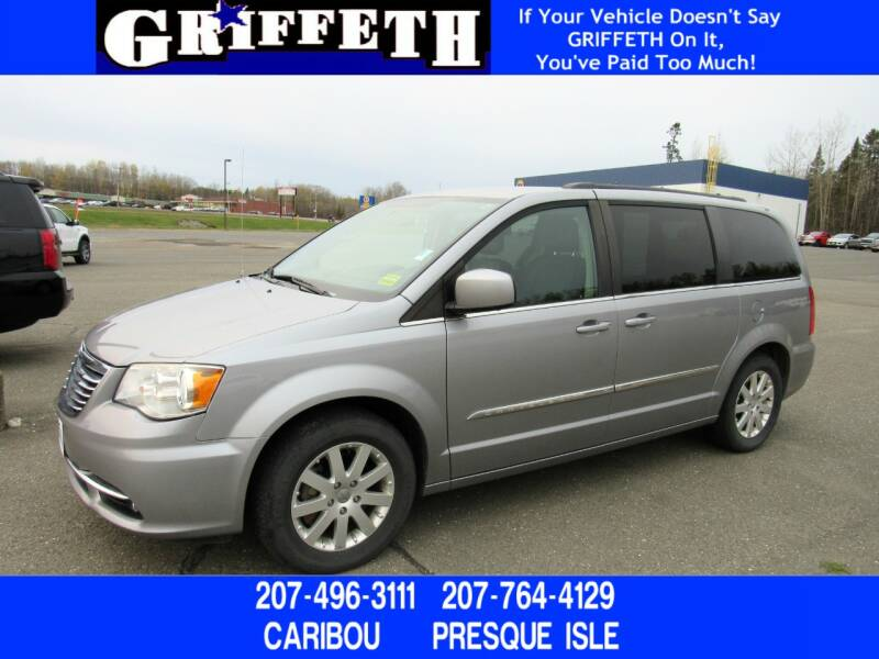 2014 Chrysler Town and Country for sale at Griffeth Ford in Presque Isle ME