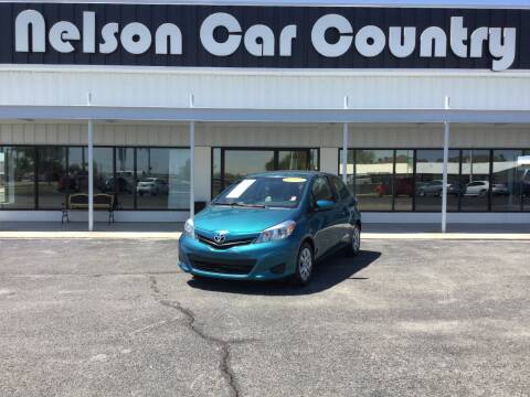 2014 Toyota Yaris for sale at Nelson Car Country in Bixby OK