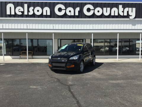 2016 Ford Escape for sale at Nelson Car Country in Bixby OK