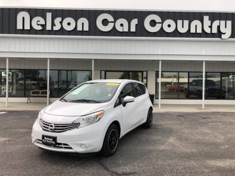 2016 Nissan Versa Note for sale at Nelson Car Country in Bixby OK