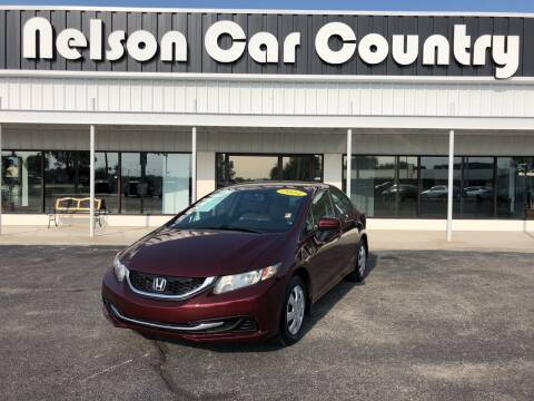 2014 Honda Civic for sale at Nelson Car Country in Bixby OK