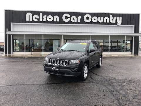 2016 Jeep Compass for sale at Nelson Car Country in Bixby OK