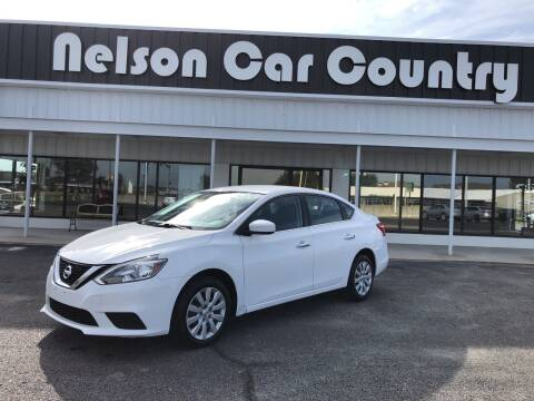 2017 Nissan Sentra for sale at Nelson Car Country in Bixby OK