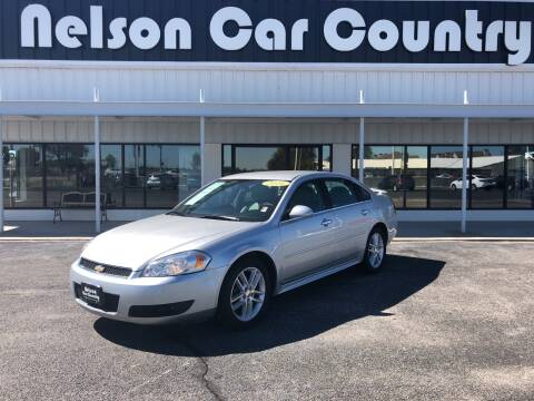 2016 Chevrolet Impala Limited for sale at Nelson Car Country in Bixby OK