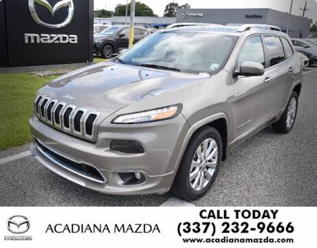 2017 Jeep Cherokee for sale at Acadiana Automotive Group in Lafayette LA