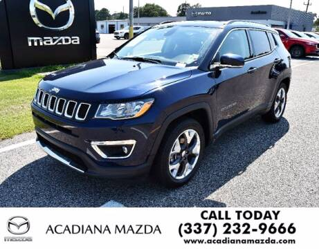 2019 Jeep Compass for sale at Acadiana Automotive Group in Lafayette LA