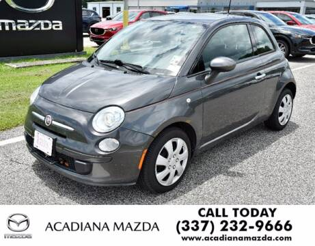 2015 FIAT 500 for sale at Acadiana Automotive Group in Lafayette LA