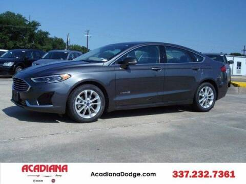 2019 Ford Fusion Hybrid for sale at Acadiana Automotive Group - Acadiana DCJRF Lafayette in Lafayette LA