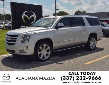 2020 Cadillac Escalade ESV for sale at Acadiana Automotive Group in Lafayette LA