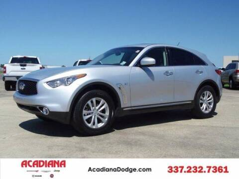 2017 Infiniti QX70 for sale at Acadiana Automotive Group - Acadiana DCJRF Lafayette in Lafayette LA