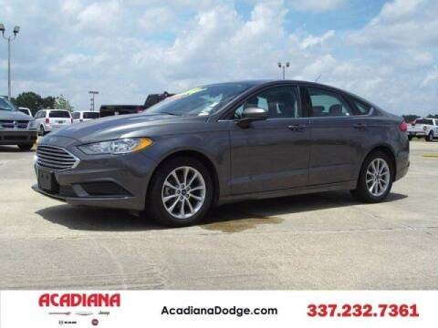 2017 Ford Fusion for sale at Acadiana Automotive Group - Acadiana DCJRF Lafayette in Lafayette LA