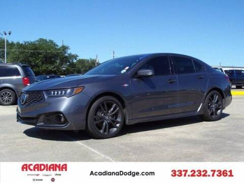 2020 Acura TLX for sale at Acadiana Automotive Group - Acadiana DCJRF Lafayette in Lafayette LA