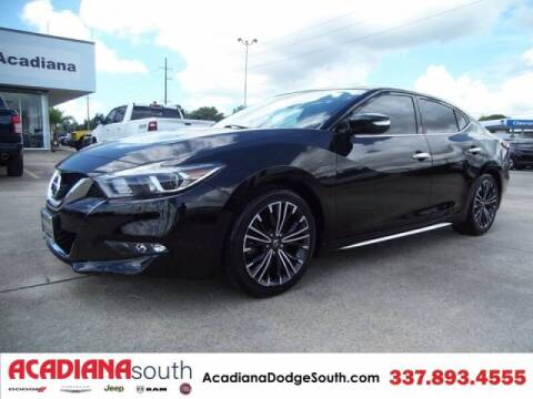 2017 Nissan Maxima for sale at Acadiana Automotive Group - Acadiana Dodge Chrysler Jeep Ram Fiat South in Abbeville LA