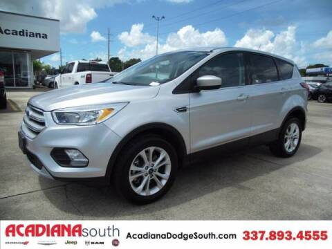 2019 Ford Escape for sale at Acadiana Automotive Group - Acadiana Dodge Chrysler Jeep Ram Fiat South in Abbeville LA