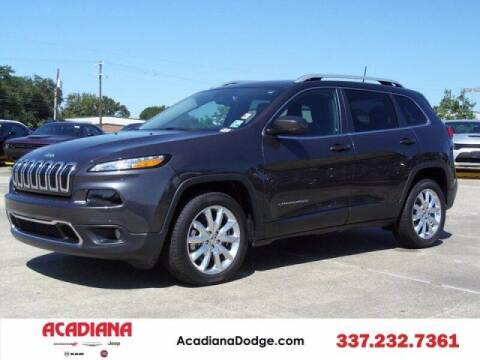2017 Jeep Cherokee for sale at Acadiana Automotive Group - Acadiana DCJRF Lafayette in Lafayette LA