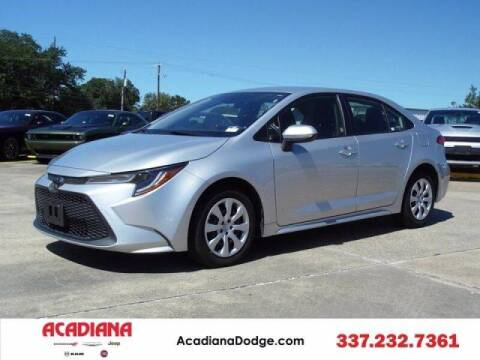 2020 Toyota Corolla for sale at Acadiana Automotive Group - Acadiana DCJRF Lafayette in Lafayette LA