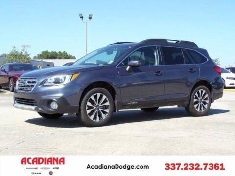 2016 Subaru Outback for sale at Acadiana Automotive Group - Acadiana DCJRF Lafayette in Lafayette LA
