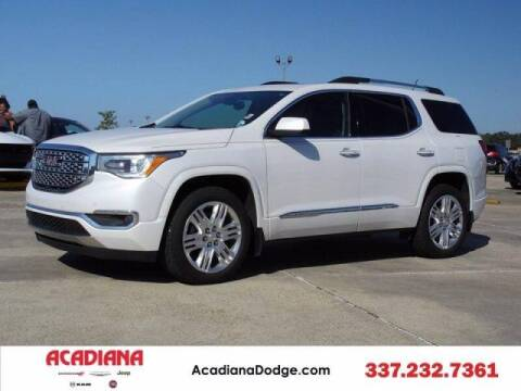 2017 GMC Acadia for sale at Acadiana Automotive Group - Acadiana DCJRF Lafayette in Lafayette LA