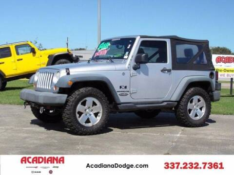2009 Jeep Wrangler for sale at Acadiana Automotive Group - Acadiana DCJRF Lafayette in Lafayette LA