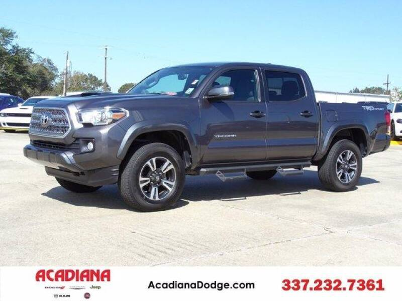 2017 Toyota Tacoma for sale at Acadiana Automotive Group - Acadiana DCJRF Lafayette in Lafayette LA