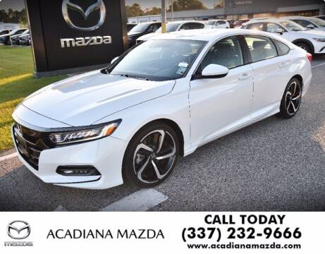 2020 Honda Accord for sale at Acadiana Automotive Group in Lafayette LA
