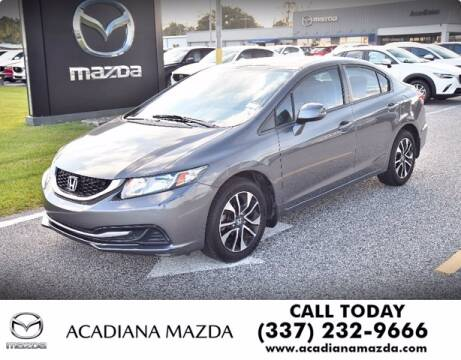 2013 Honda Civic for sale at Acadiana Automotive Group in Lafayette LA