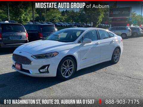 2019 Ford Fusion Hybrid for sale at Midstate Auto Group in Auburn MA