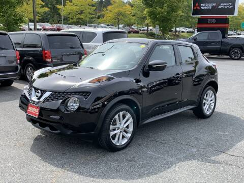2016 Nissan JUKE for sale at Midstate Auto Group in Auburn MA