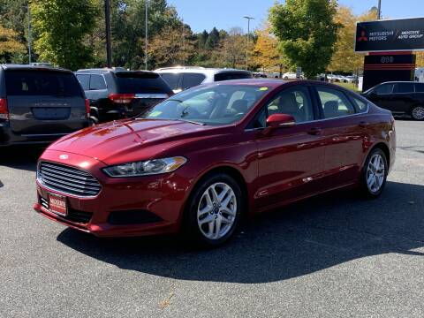 2015 Ford Fusion for sale at Midstate Auto Group in Auburn MA