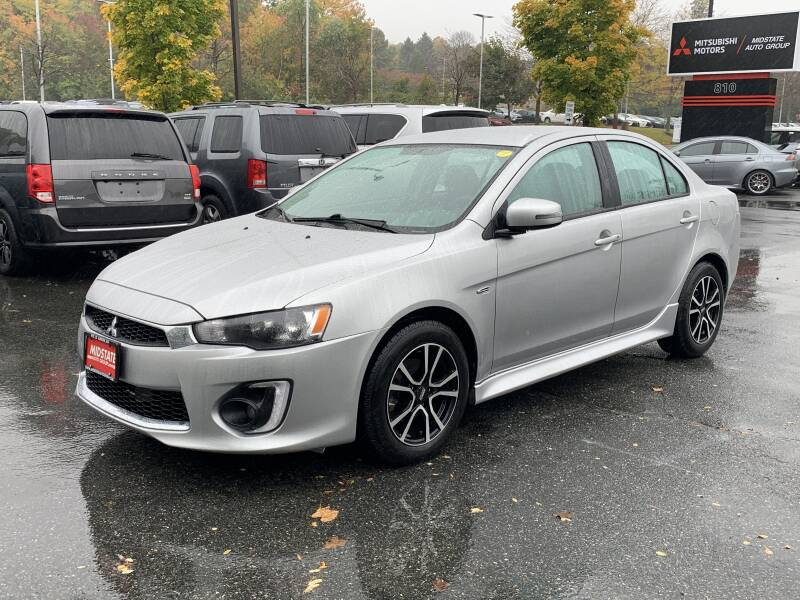 2016 Mitsubishi Lancer for sale at Midstate Auto Group in Auburn MA