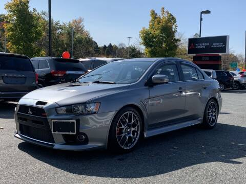 2015 Mitsubishi Lancer Evolution for sale at Midstate Auto Group in Auburn MA