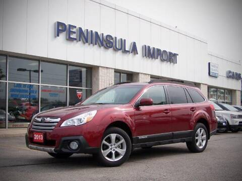 2013 Subaru Outback for sale at Peninsula Motor Vehicle Group in Oakville Ontario NY