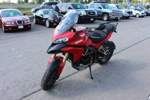 2012 Ducati Multistrada ABS for sale at Peninsula Motor Vehicle Group in Oakville Ontario NY
