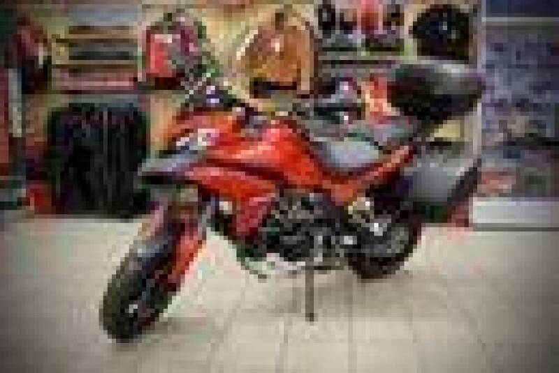 2014 Ducati MULTISTRADA S TOURING for sale at Peninsula Motor Vehicle Group in Oakville Ontario NY