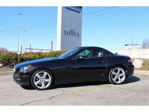 2015 Mercedes-Benz SLK for sale at Peninsula Motor Vehicle Group in Oakville Ontario NY