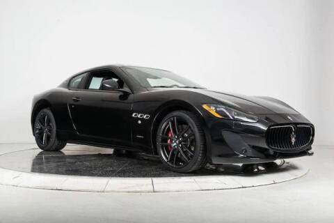 2017 Maserati GranTurismo for sale at Peninsula Motor Vehicle Group in Oakville Ontario NY