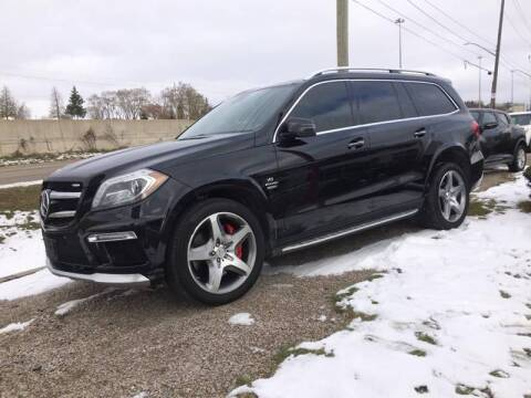 2016 Mercedes-Benz GL-Class for sale at Peninsula Motor Vehicle Group in Oakville Ontario NY