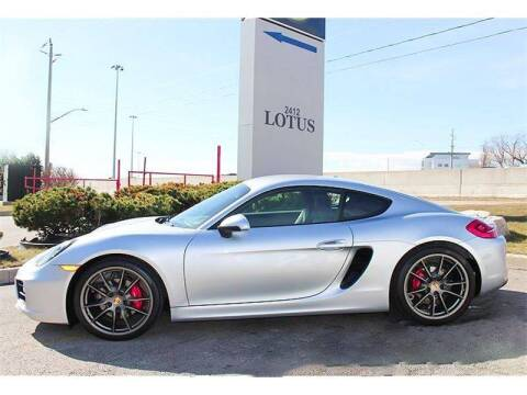 2014 Porsche Cayman for sale at Peninsula Motor Vehicle Group in Oakville Ontario NY