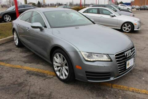 2012 Audi A7 for sale at Peninsula Motor Vehicle Group in Oakville Ontario NY