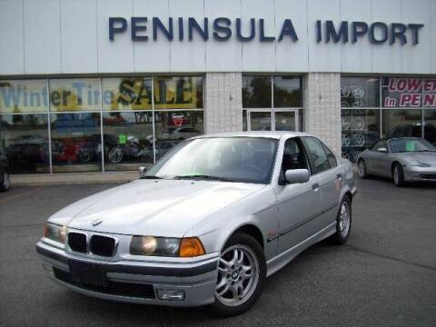 1998 BMW 3 Series for sale at Peninsula Motor Vehicle Group in Oakville Ontario NY