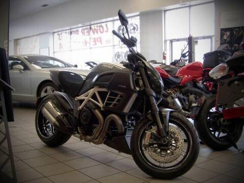 2013 Ducati Diavel AMG for sale at Peninsula Motor Vehicle Group in Oakville Ontario NY